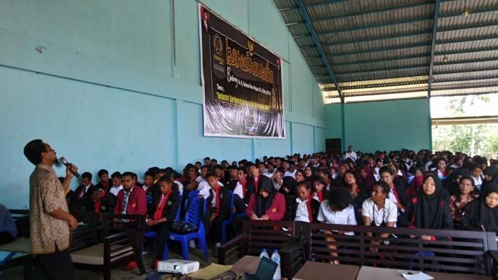 428 Mahasiswa Semester 7 FKIP unimuda Sorong Ikuti Pembekalan Kuliah Pengabdian Masyarakat