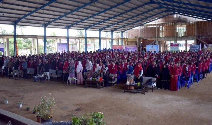 805 MAHASISWA FKIP Unimuda Sorong ikuti Pembekalan Magang 1 dan Magang 3 yang dilaksanakan oleh UPT Magang dan KPM