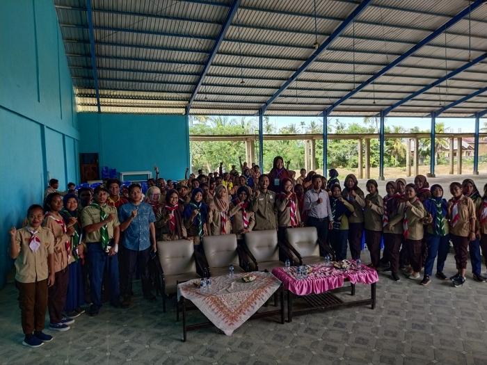 Dekan FKIP : 153 Mahasiswa PGSD FKIP Unimuda Sorong Akan Miliki Mental Kuat melalui Kemah Kepanduan
