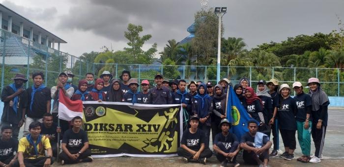 Dekan FKIP Unimuda Sorong Resmi Buka Kegiatan Diksar XIV MPA GEMPA Unimuda Sorong