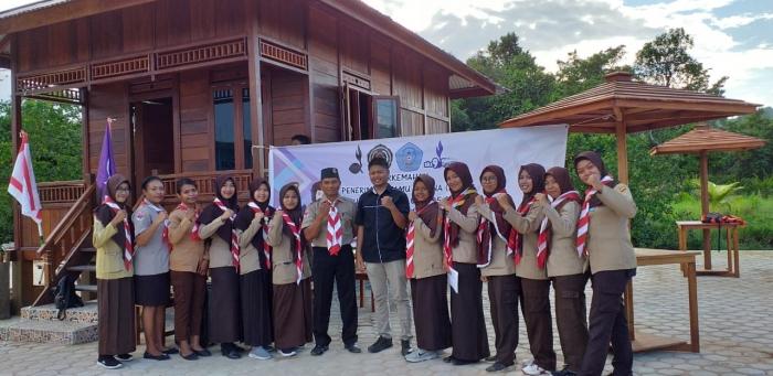 Dewan Racana Ahmad Dahlan dan Siti Walidah Gugus Depan 05.075/05.076 Pangkalan Unimuda Sorong Gelar Perkemahan Penerimaan Tamu Racana