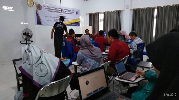 FKIP UNIMUDA FASILITASI PELATIHAN PENGELOLAAN JURNAL PRODI DAN E-LEARNING