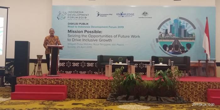 "FKIP UNIMUDA JOIN DISKUSI PUBLIK DALAM ""ROAD TO INDONESIA DEVELOPMENT FORUM (IDF) 2019"""