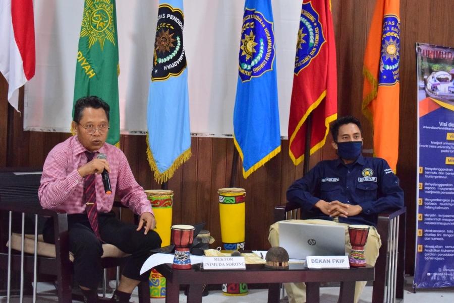 FKIP Unimuda Sorong gelar 5 Kali Webinar dalam Dua Pekan