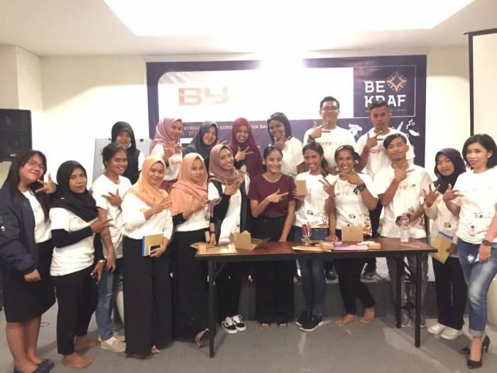 JADI MILENIAL : MAHASISWA FKIP UNIMUDA SORONG GABUNG *BYTE* (Bekraf Young Technology Entrepreneurs)