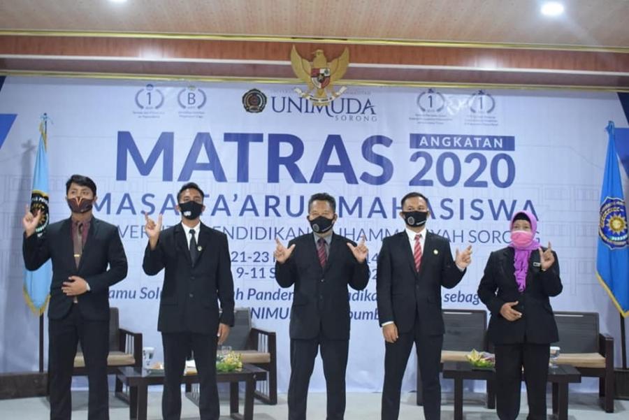 MASA TA'ARUF MAHASISWA BARU FKIP UNIMUDA SORONG TAHUN 2020 DIGELAR SECARA DARING