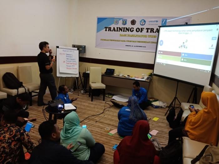 Membiasakan Perilaku Hidup Sehat melalui Program WinS (Wash in School), Kemitraan Unimuda-Unicef gelar TOT bagi Pelatih di Vega Hotel