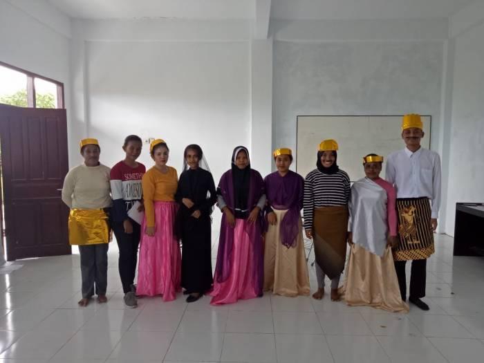 *Putri Jagad* dan *Tidak Jujur Tidak Beruntung* (DRAMA SUKSES yang ditampilkan oleh mahasiswa prodi Pendidikan Bahasa Indonesia FKIP Unimuda Sorong
